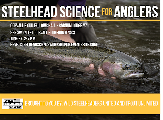 steelhead science for anglers OREGON