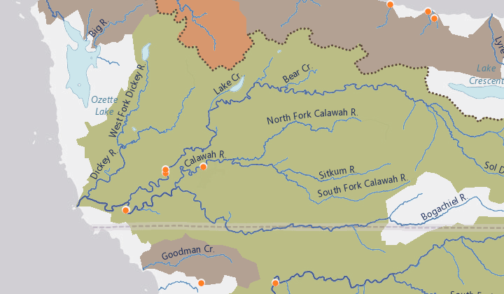 Wild Steelhead Conservation Map